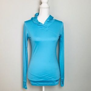 Under armour fitted heat gear catalyst hoodie